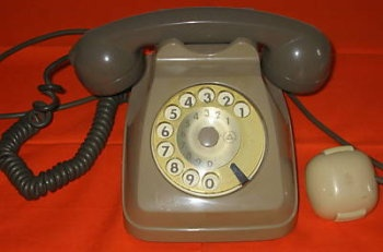 most popular Italian telephone in the 80's...