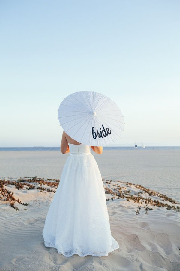 DIY   personalized wedding parasols » Something Turquoise {ideas for the DIY bride}