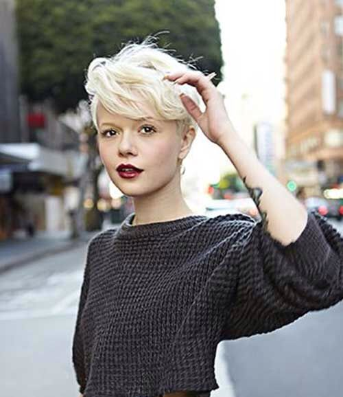 23 best Very short hairstyles women images on Pinterest | Pixie ...