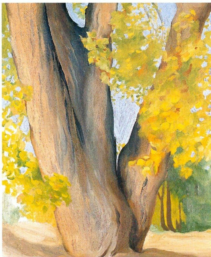 Georgia O'Keeffe Untitled (Cottonwood tree), 1945
