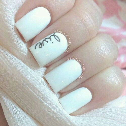 Blanco esmaltado semipermanente