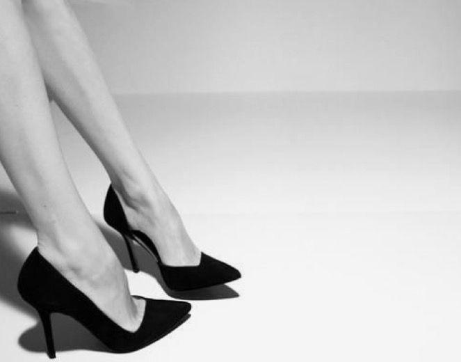 Selina is always in heels