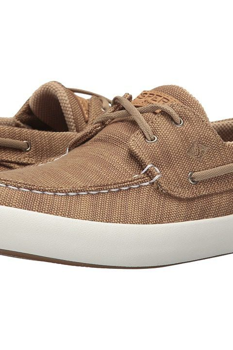 Sperry Wahoo 2-Eye Baja (Chino) Men's Lace up casual Shoes - Sperry, Wahoo 2-Eye Baja, STS15189-260, Footwear Closed Lace up casual, Lace up casual, Closed Footwear, Footwear, Shoes, Gift, - Street Fashion And Style Ideas