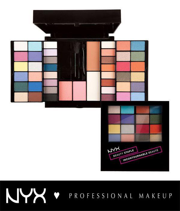 Αγαπάμε τις παλέτες που μας δίνουν όλα τα must-have προϊόντα! Στην NYX Beauty Staple θα βρείτε 2 βασικά χρώματα ρουζ, 2 πούδρες για φωτοσκιάσεις και 40 σκιές ματιών σε γήινες αλλα και έντονες αποχρώσεις με ματ και λαμπερό τελείωμα! Ανοίγοντας στο πλάι την παλέτα θα βρείτε επίσης ένα lipgloss, eyeliner, μολύβι φρυδιών και μάσκαρα!