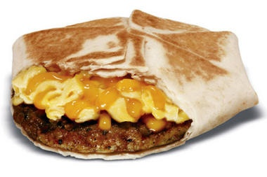 New Taco Bell Breakfast menu