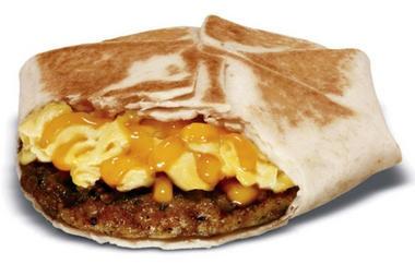 New Taco Bell Breakfast menu