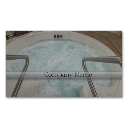 Hot Tub Business Card Template