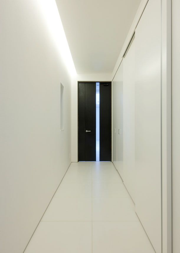美術館のような家(大阪市天王寺区)   設計事務所フリーダム