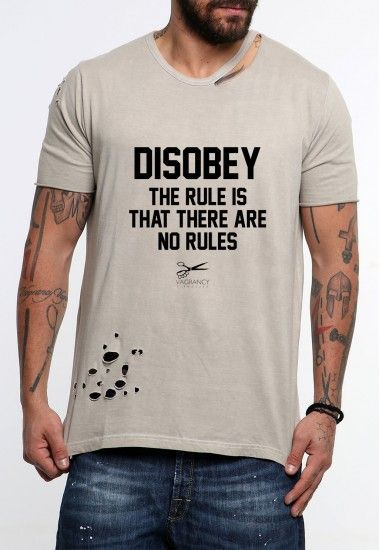 disobey  #vagrancylifestyle #handmade #top #man #rips