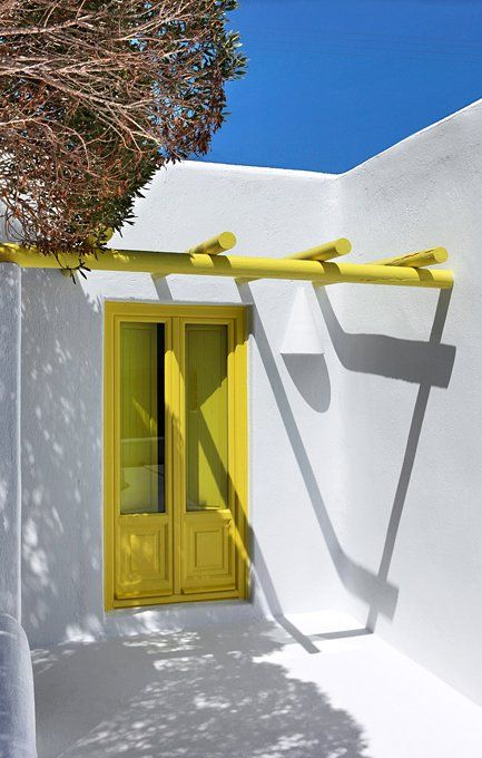 Architect's House Santorini, Greece.