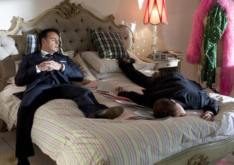 ant and dec - this is how i feel after a long day at work lol
