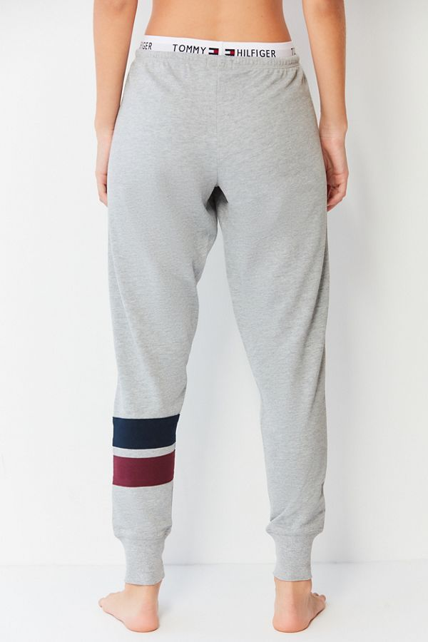Tommy Hilfiger Uo Exclusive Logo Band Lounge Pant Urban Outfitters Tommy Hilfiger Oversized Hoodie Outfit Cute Sweatpants