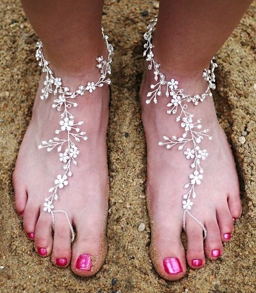Perfect for Barefoot weddings <3  which is what I am absolutely doing!