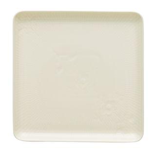 方型盤- 象牙白