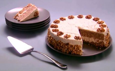 Walnut Torte Recipe by Anna Olson ... made for Thanksgiving 2014  .. it was amazing!