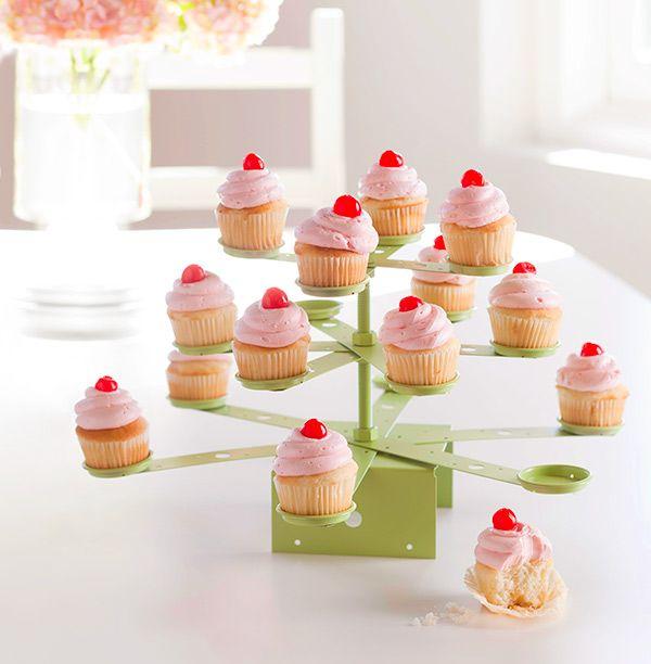 DIY cupcake stand.