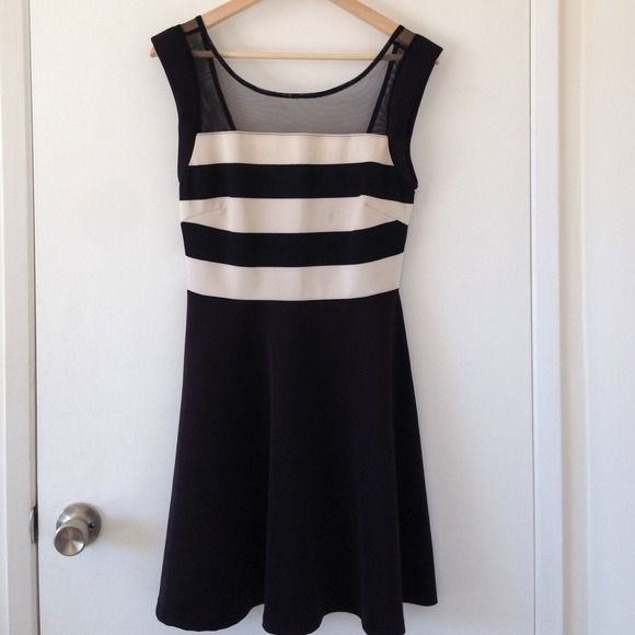 Striped evening dress Blemish pictured above Dresses