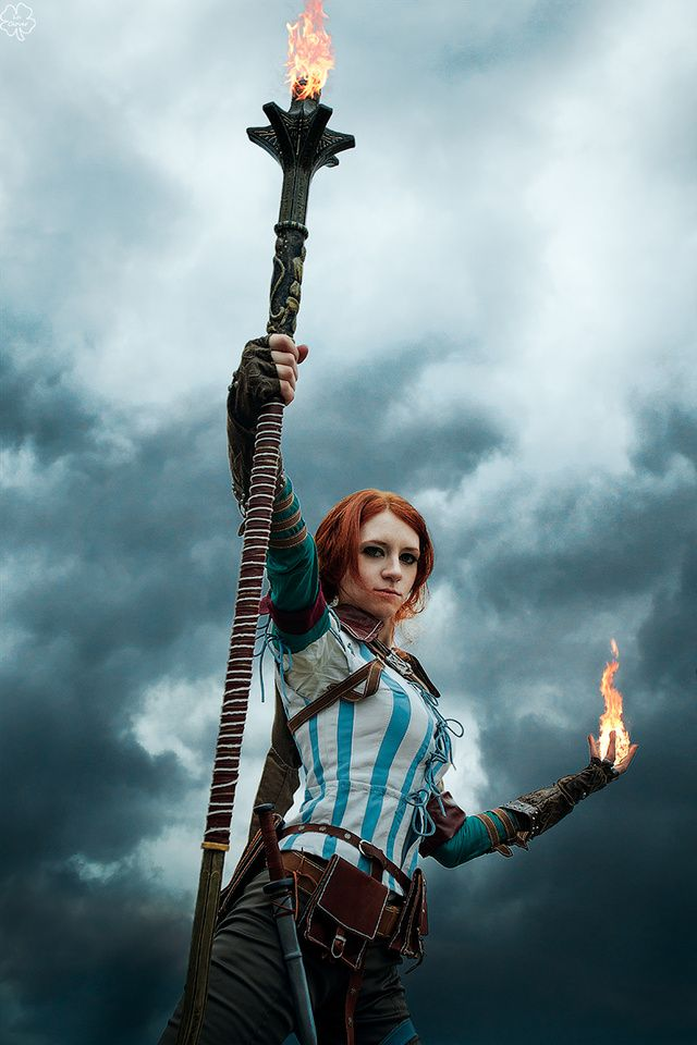 Triss Merigold of Witcher 2: Assasin of Kings
