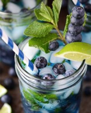 Two Words: Blue. Berries.   www.Cookapp.com