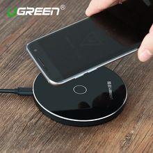 [Qi Wireless Charger 10W],Ugreen Original Wireless Charger Charging Pad for Samsung Galaxy S6 S7 Edge Google Nexus 4/5 Lumia 920(China (Mainland))