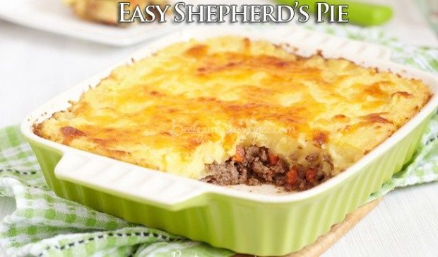 Easy Shepherd's Pie - HowToInstructions.Us