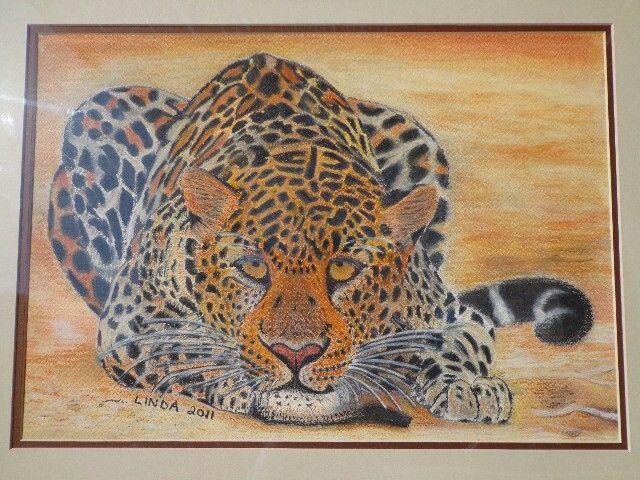 Leopard in pastel - Linda