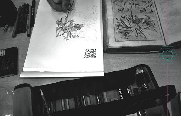 Behance :: Editing ANCIENT BOOKS / PILOT 0,5 / MAGNYFIND GLASS
