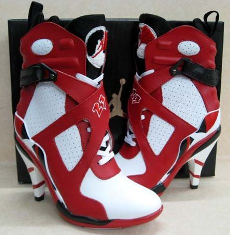 AIR JORDAN'S....omg I just had to put these on my board. Different...definitely different.