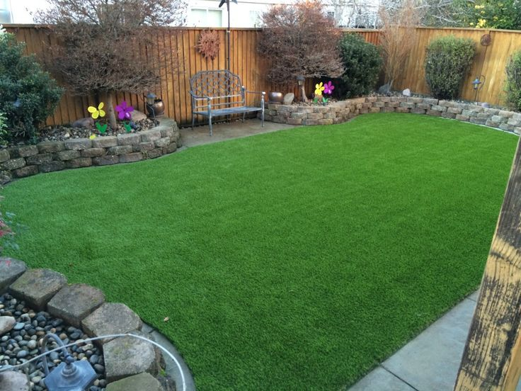 Project: Livermore, CA Backyard Synthetic Grass