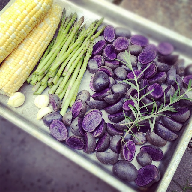 wedding purple potatoes asparagus roasts forward purple potatoes ...