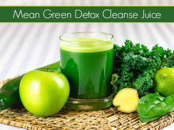Mean Green Detox Cleanse Juice