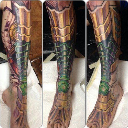 Biomechanical Tattoos | Inked Magazine
