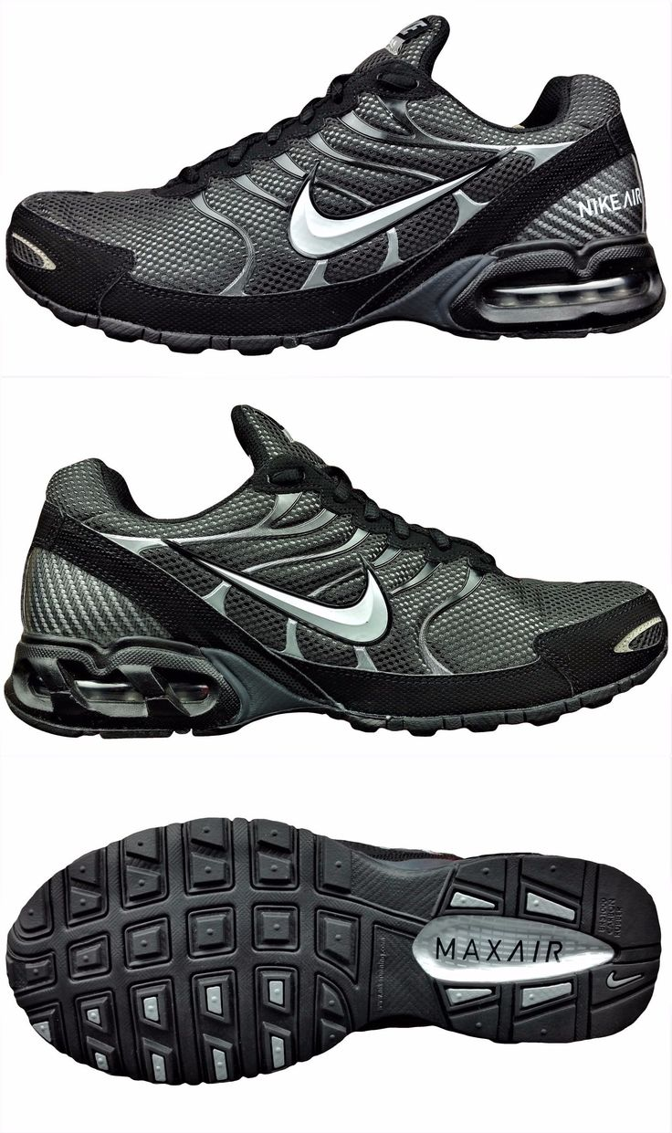 Athletic 15709: New Nike Air Max Torch 4 Men S Running Shoes Airmax  Sneakers Black