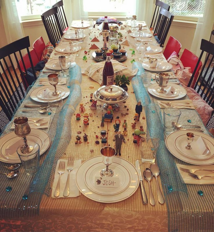 What Setting My Passover Seder Table Made Me Realize For The First Time & 132 best Holidays: Passover Table settings images on Pinterest ...