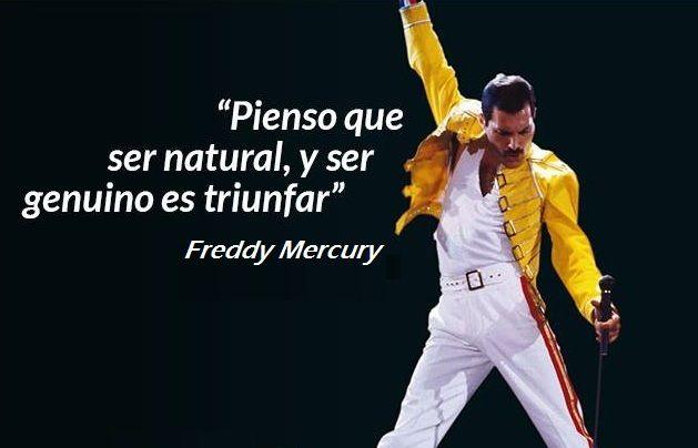 Este pensamiento de Freddy Mercury, un triunfador reconocido , conecta el triunfo con la autenticidad, la fidelidad a uno mismo y la libertad de elegir y hacer lo que se elige. Y es que ser uno mis...