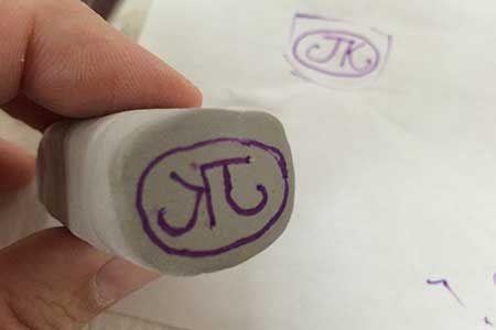 Signature stamp & more