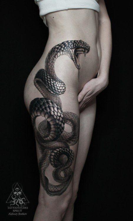 tatuaje serpiente