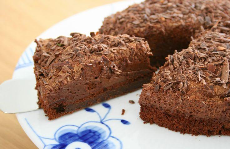 Gateau Marcel Chocolate Cake --- Give me a shout if you need translation :0)