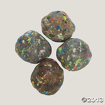 Rock climbing party-Rock-Shaped Bouncing Balls