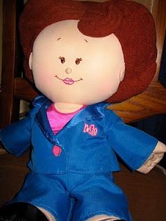 February 1,2010  063/365 Love my 1996 Rosie Doll