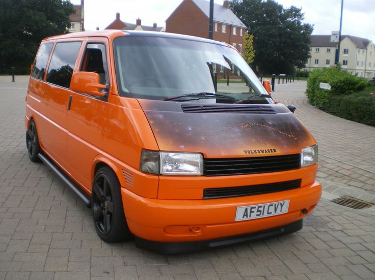 cool as lowered t4 orange 2 5 tdi re mapped vw t4 forum vw t5 forum t4 pinterest vw. Black Bedroom Furniture Sets. Home Design Ideas