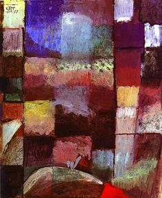Ideal  Hamamet by Paul Klee