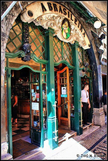 Café, Lisboa, Portugal