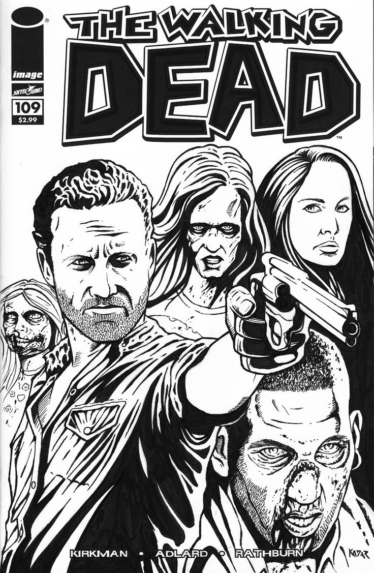 the walking dead comic book | the walking dead started as a comic book series created by robert ...