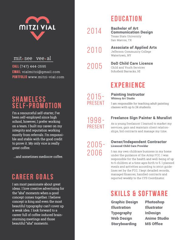22 best project 4 images on Pinterest Design resume, Resume - graphic designers resume samples