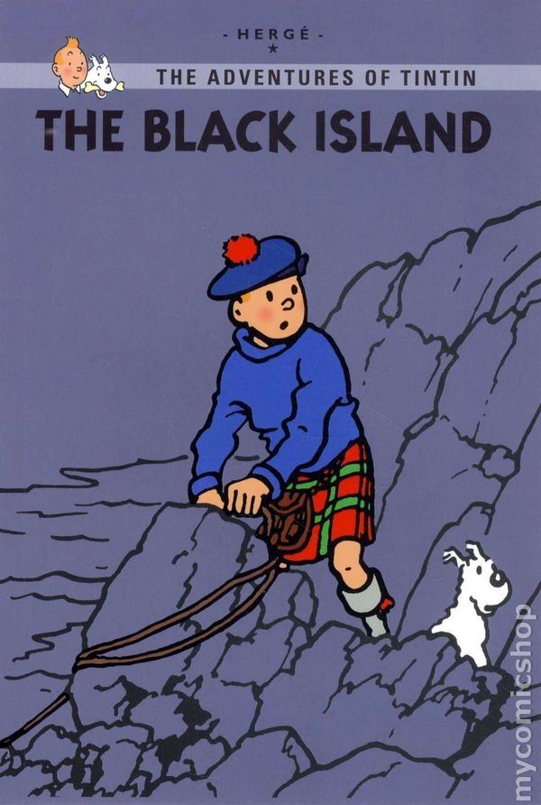 Voted by Time Magazine as one of the greatest graphic novels ever published. The Black Island /The Adventures of Tintin / Herge