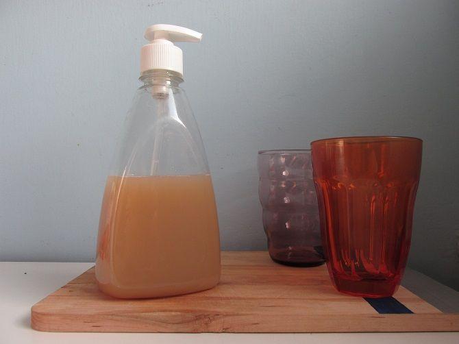 Házi környezetbarát mosogatószer   NOSALTY – receptek képekkel