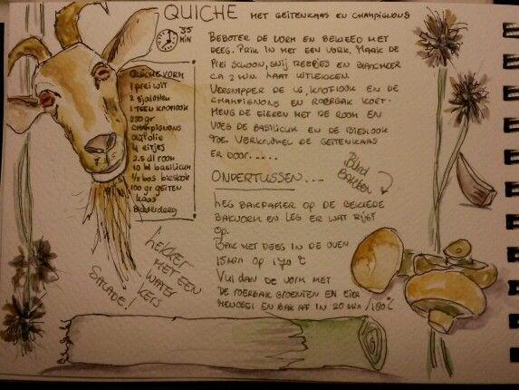 Quiche Illustrated by MoP
