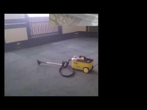 Czyszczenie wykładzin,dywanów Karcher Poznań - YouTube