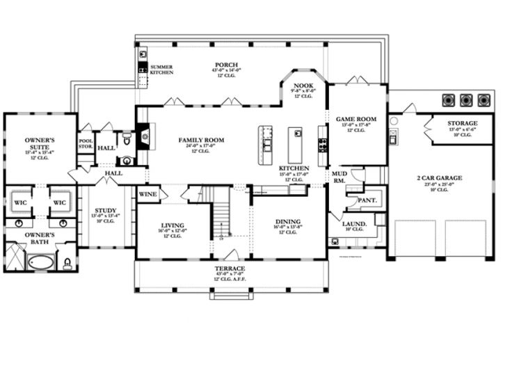 Like the simple layout of this master bedroom plan
